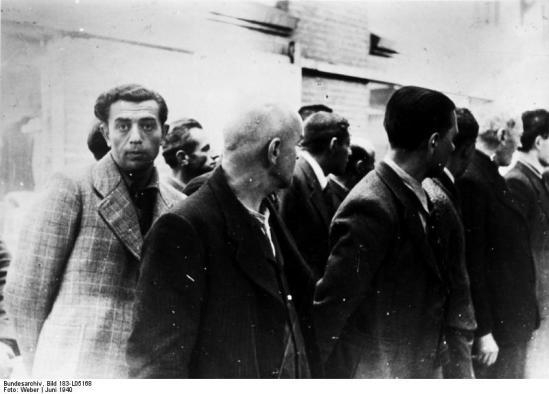 Niederlande, Verhaftung emigrierter Juden